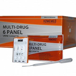 HOMEMED Multi-Drug 6 Panel Cassette Shipper (25s)